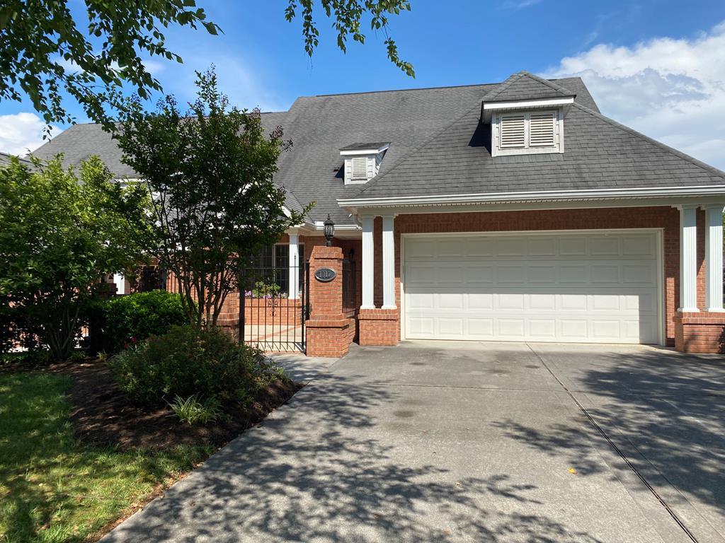 This beautiful 3 bedroom, 2 bath unit is located in the much sought after Savannah Glen Development. Conveniently located near Smoky Mountains, Dollywood, grocery stores, outlet mall, many medical and other services yet on a quiet tree lined street. This home has 1961 sq ft of living space plus 441 sq ft of air conditioned, heated garage (with finished floor, and built in storage suitable for many uses. Updated kitchen, spacious master bedroom with large jacuzzi, laundry room with sink,. Bright sunroom leads to 22x34 ft patio that overlooks green space for sense of privacy.   Must see to appreciate .  Call for appointment.