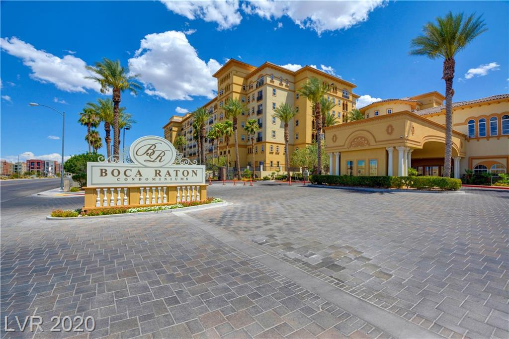 BEAUTIFUL UNIT AT LUXURIOUS BOCA RATON CONDOMINIUMS ON PRIME SOUTH STRIP!!. FURNITURE NEGOTIABLE. LOCATED MINUTES TO RAIDERS STADIUM, SHOPPING, DINING, CASINOS AND FREEWAY ACCESS. OPEN FLOOR PLAN WITH DUAL MASTERS. RESORT STYLE AMENITIES INCLUDING GUARD GATED ENTRY, POOL, FITNESS, 24 HR SECURITY, CLUBHOUSE, CONCIERGE, 2 UNDERGROUND PARKING, BBQ AREA, BUSINESS CENTER.