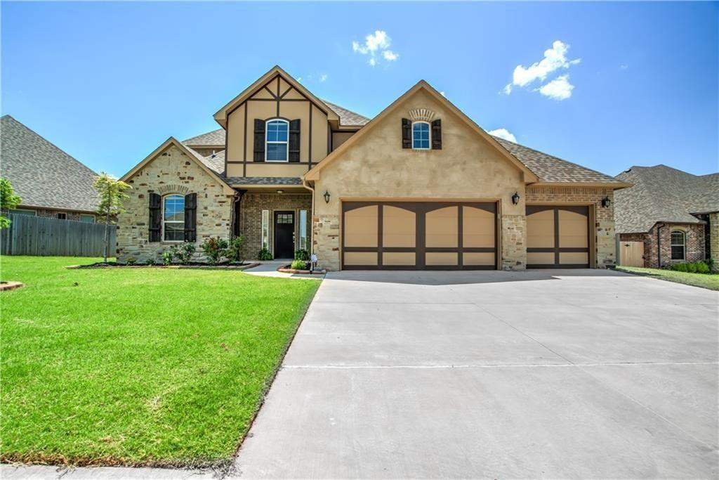 Stunning custom home in The Grove!. Gourmet kitchen with cabinets and counters galore and huge walk-in pantry. Or the spacious master retreat with a spa-like bathroom. The large living room has gorgeous wood floors, a stone fireplace, and beautiful over-sized windows. The mudroom has a wall of storage cubbies, a bench and even a separate utility closet, not to mention a big laundry room. Downstairs has a true mother-in-law plan with another bedroom and full bath, and also a study. Upstairs, you will find 2 large bedrooms (one is big enough to be a bonus room) and a full bathroom. This house is packed full of special features and upgrades. There are closets and built in storage around every corner! *STORM SHELTER* in garage. Massive covered back patio overlooks the large backyard (1/4 acre lot!) Short walk to the Grove pool, gym, clubhouse, basketball court and playground! The grove also has 1 more pool, gym, and clubhouse, and walking trails, soccer field, ponds and more!