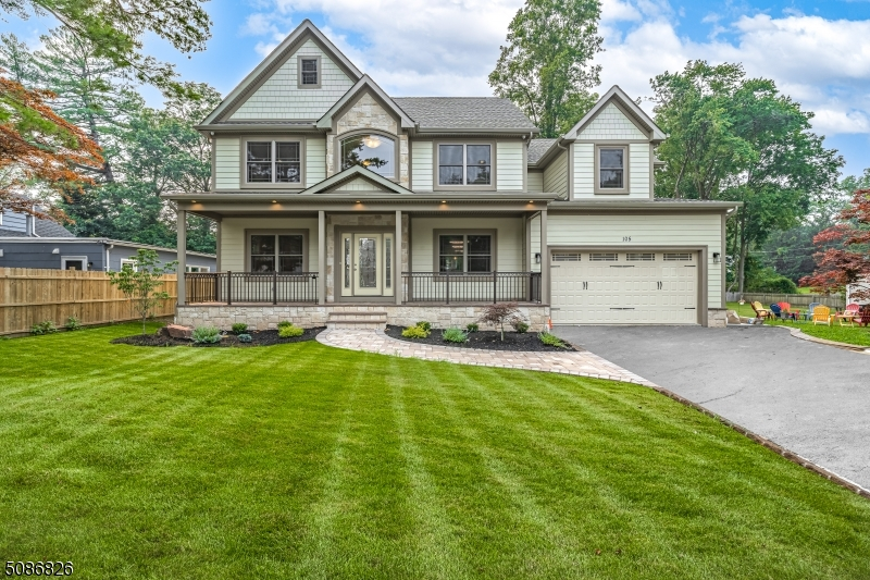 Pride of workmanship truly shows here. COMPLETED, Brand New Construction by R. Ferraro Construction, ready to move in.  So much detail and extras included in this custom home. Upon entering this exquisite home you will notice detail custom molding and boxed ceilings throughout. Open concept kitchen and family room with custom gas FP. 1st floor bedroom(office) w/sliders and deck to yard. Full Bath, Mud room with built in cubbies. 2nd floor find 3 more spacious BR, full bath, laundry room. Master Suite with gas FP, balcony, custom huge closet. Finished attic on 3rd floor with spacious rooms and full bath. Full finished basement with 9ft. ceilings and full bath. Security cameras, 3 zone heating and air. Too many extra to list. Don't miss out on this gem