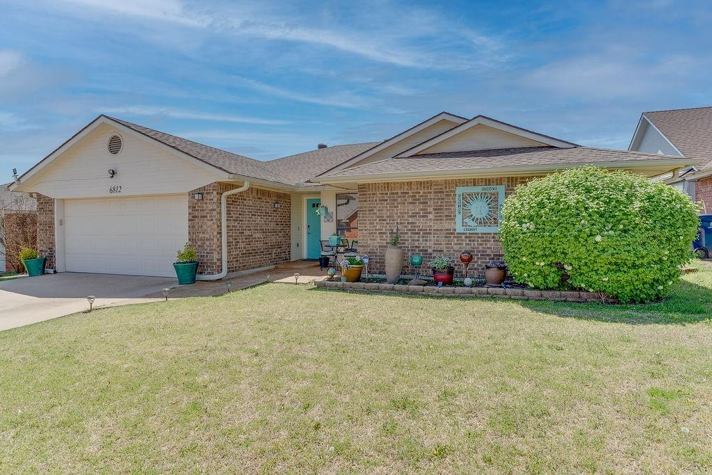 Open House Sun April 25th 2-4 pm. Wow! You've got to see this! Charming home in award winning Deer Creek Schools. Imagine summer in your backyard oasis w/a 30'x18' sparkling sports pool! As soon as you walk in the home you see a large open, vaulted, beamed living room that has beautiful views of backyard oasis. Wood burning fireplace & built-ins add to the charm. Wood-look tile throughout the home. Kitchen has brand new gas stove & microwave. The light fixtures throughout the house are gorgeous! Master is huge w/large sitting area, beautiful tile shower, 2 walk-in closets. Bedroom three also has 2 closets. Hallway bath has another beautiful tile shower. All baths have updated counters & fixtures. There is an office nook perfect for any home office. Backyard is stunning! Sports pool is 4' deep on ends, 8' in middle, all pool equipment stays. There is a gazebo AND additional patio area along w/hammock structure. Rare to find all this in a home in this price range!