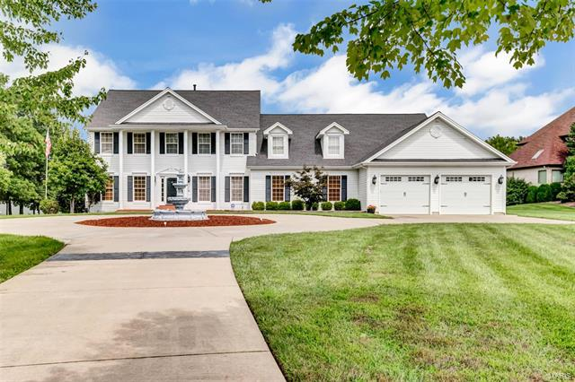 A unique opportunity that rarely comes available! Your own estate 2 ACRE home nestled on a secluded cul-de-sac by Lake Forest Country Club.  This grand 2sty has 6500 sq ft of living space including a finished walkout LL an extra deep 4 car garage! The home was redesigned & expanded to create an addl family rm & a luxurious master suite w/two large walk-in closets & built-in sauna. As you enter you will find a formal office & den that leads to a formal 2sty atrium great rm overlooking your own 2 ac park! Tucked away on the other side is the large family rm perfect for entertaining & relaxing. The seller has added a large & very well insulated 4 car garage w/ private workshop, stereo system, ceiling fans & secured by the alarm system. The outside has Inground irrigation & all flower beds have drip irrigation. A decorative pond w/waterfall & a composite tongue & groove deck w/ hot tub. The family rm has an elevator shaft to the master bedroom that is currently being used as game closet.