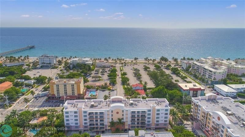 HOW WONDERFUL TO LIVE ON THE ISLAND OF DEERFIELD BEACH. AS YOU COME OVER THE BRIDGE THE OCEAN LIES IN FRONT OF YOU AND RESTAURANTS & SHOPS ARE A HALF BLOCK WALK TO LEFT ,  YOUR 1 OCEAN COMPLEX  IS TO THE RIGHT. A LUXURY CONDO WITH GENEROUS ROOMS, 2 LARGE BALCONIES , RESORT POOL& GYM. FUN ART SHOWS & FESTIVALS ,THE BEST BEACH,  YET QUIET & PAMPERED WHERE YOU LIVE ONE BLOCK OFF THE ACTION. (SMALL PET FRIENDLY) .
