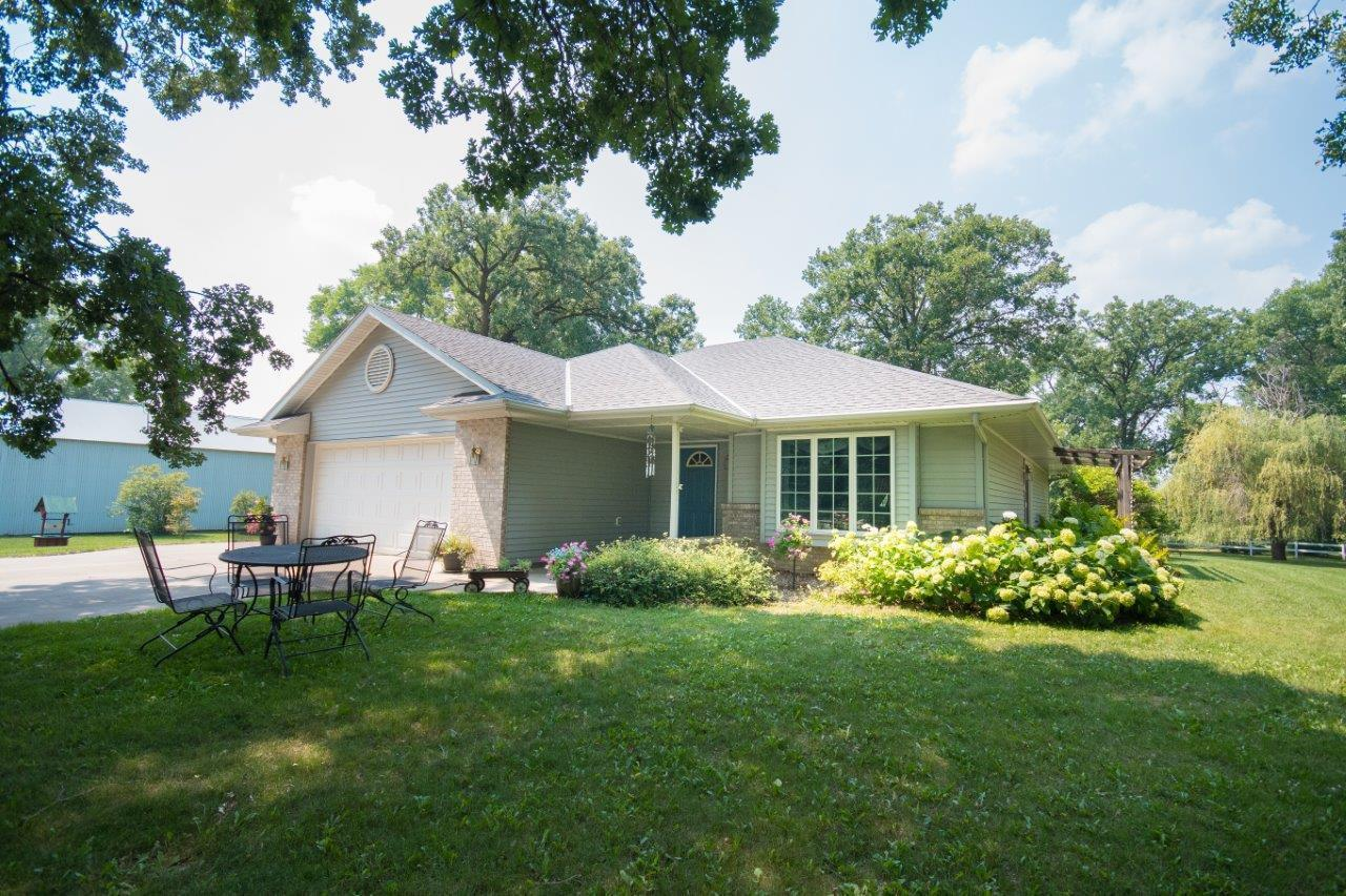 Built in 1998, here is a 3 bed 2 Full 2 Half bath Rambler style home w/24x24 two stall attached garage on a wooded 1.32 Acre parcel 8 Miles North of Sauk Centre & 9 Miles to Osakis and near several Lakes (Little Sauk, Guernsey, Big Sauk Lake). Property features: Steel Siding, Front Porch, Beautiful Sunroom,  Nice sized kitchen, Large living room w/ gas fireplace, All living facilities on the main level, large master suite & Finished Basement w/ 2 bedrooms.