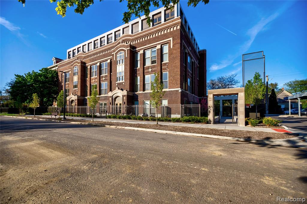 A dream loft with a luxury class! The Saint Charles school was converted to luxury lofts in 2019. The gorgeous building architecture was preserved and paired with the highest level of finishes. Enjoy Bosch appliances, white quartz counters, Carrara marble backsplash, hickory wood floors. Fall in love with the school's terrazzo & concrete floors restored to a new life and the original brick walls displayed as a work of art. Discover a unique loft featuring 15' ceilings and two separate upper levels hosting a guest bedroom for one and a large open mezzanine for the other. This is a corner unit with very large windows offering views of the delightful architecture of the historic church and plenty of light from the west. Amenities include: secured carport parking & fitness center, large lobby and common areas. All within walking distance to West Village shops and restaurants. Enjoy very low property taxes (less than $1250/year) thanks to the NEZ tax abatement valid until 2034.
