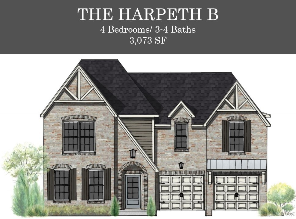 Willow Branch Homes introduces the Harpeth B w/a Stately Brick Exterior, Main floor Owner's Suite and guest bedroom & bath, 2 Bdrms/2 Bths up w/huge Bonus Room and walk in storage.  This home boasts an Open Floor Plan, Hardwoods in common areas & Stairs, Granite in Kitchen/Baths, Gas Cooktop w/Vented Hood, Built-in Oven/Microwave, Large Pantry, Fireplace, Laundry that opens to Owner's Closet, Covered Patio, Soft close doors & Drawers..Still time to make interior selections! Ready Nov. 2020!