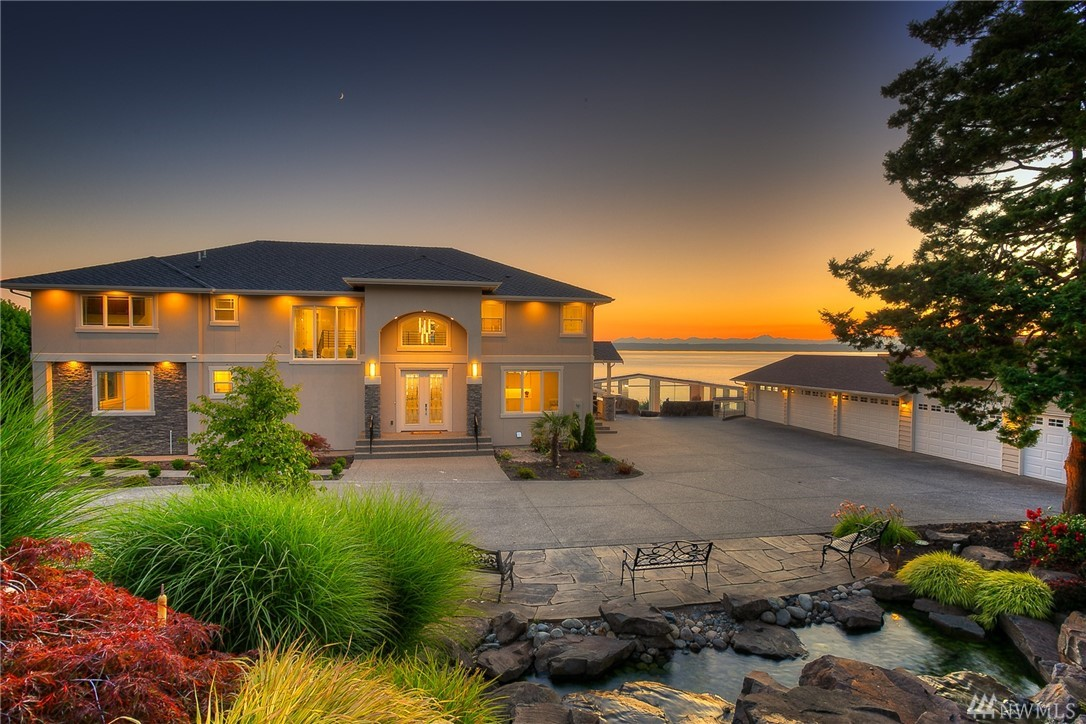 "A dip into the resort lifestyle! Over 1.5 acres w/150 ft of waterfront & breathtaking views of Puget sound & the Olympics. Located on ""Mansion Row"" just south of the Des Moines marina. A gated entry leads to fully renovated  from top to bottom main residence. Built w/the highest luxury standards in 2018, this 7,110 sf home offers everything you could desire. Fabulous outdoor living spaces, expansive view covered decks, a resort-worthy pool/entertainment area, 8+ car garage/workshop & much more."