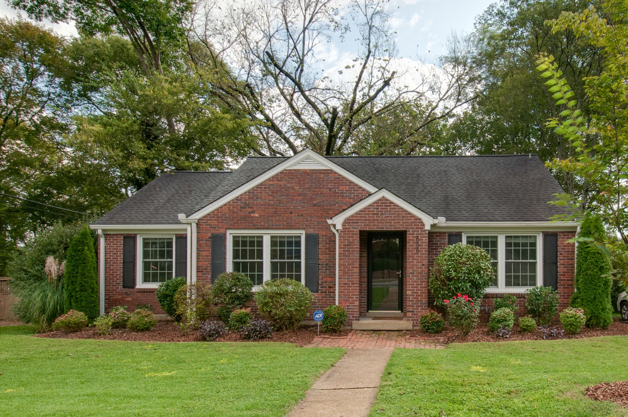 Charming home in the highly desirable Brookside Courts neighborhood. All brick with 3 bedrooms and 2 baths, spacious laundry room, open living areas and a fully fenced in back yard. Enjoy easy access to Trader Joes, Charlotte dining options, The Richland Greenway and I-40.