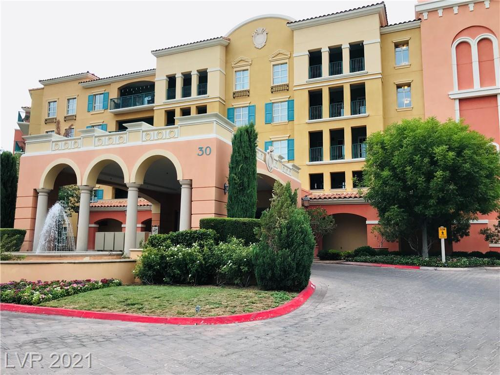 This is  a lovely newly remodeled two bedroom unit, a must see to appreciate. Just steps away from the Village in Lake Las Vegas.