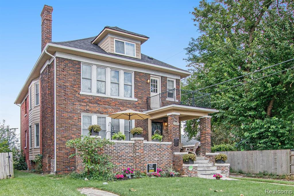 """LaSalle Gardens! Incredible opportunity to own this wonderful 5 bedroom, 3.1 bath home that offers historic charm and modern amenities. Complete renovation """"down to the studs"""" in 2019. Meticulously maintained. You will be delighted around every corner as you discover this special home. Spacious living spaces throughout home to entertain family and friends with numerous living spaces and designer touches. Custom Kitchen with butcher block counters. First floor master suite with a large walk in closet and master bath. Second floor features a cozy family space, three spacious bedrooms and 2nd floor laundry. Third floor loft area with full bath. 2019 Furnace, Water Heater, Roof, Electrical. 2019 New Dual Air Conditioner, Washer and Dryer. Custom White Wood Shutters on all windows to be installed before closing. This home has everything you are looking for in a perfect location. Schedule your private showing. BATVAI"""