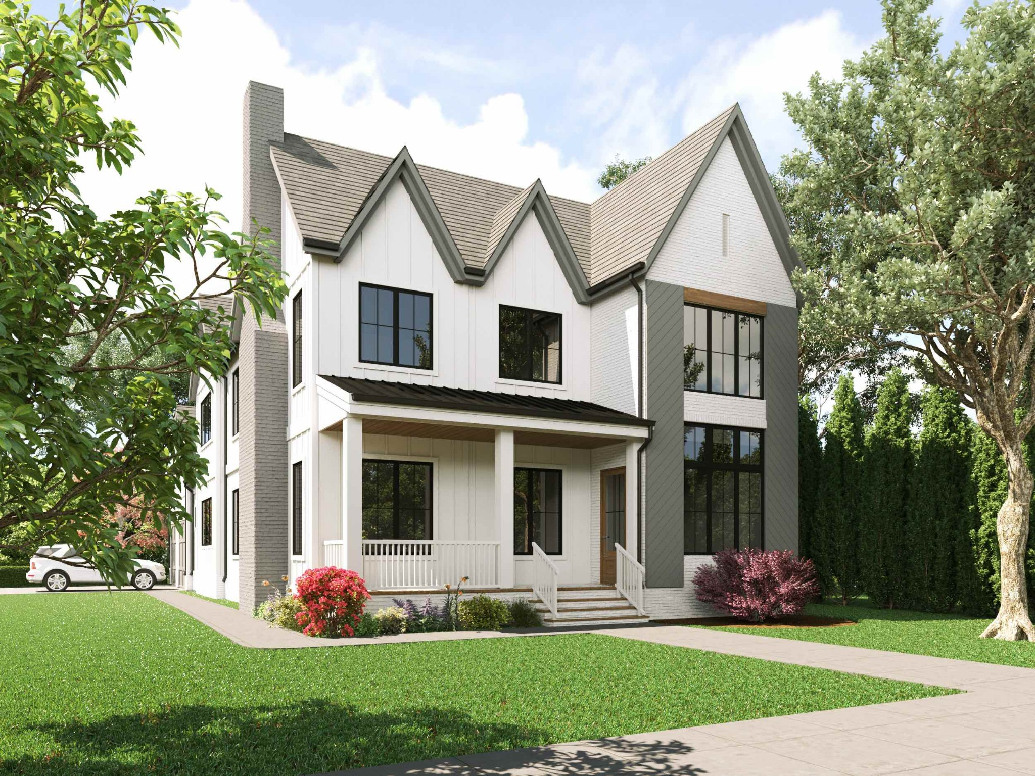Welcome home to 4114 Idaho Ave. This Sylvan Park home features 4 bedrooms, 5 bathrooms, gourmet kitchen, Master Suite, huge bonus room, flex/office space above attached 2 car garage, and designer finishes. All of this located in the heart of Sylvan Park on a rare corner lot.