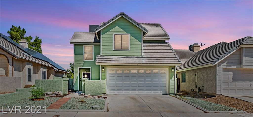 Adorable 2 story home in the heart of Green Valley! Features all tile floor downstairs, 3 bedrooms plus loft, balcony off master, vaulted ceilings, AC unit only 2 years old, huge private yard with views of the mountains, NO HOA, and so much more!