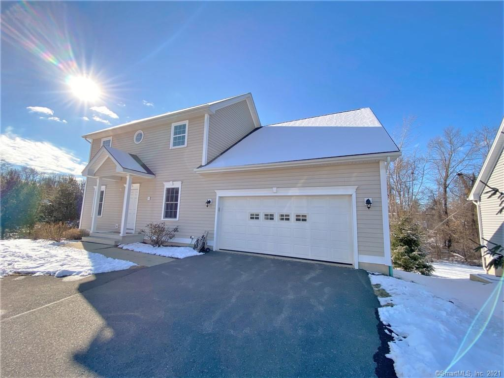 """""""The Chapman"""" at Chapman Chase. This home was fully optioned by the original owners. Every box was checked! Custom kitchen with Stainless steel appliances, granite counters, center island w/breakfast bar, sliding door opens to the deck. Wide open first floor plan opens the living room, dining area, and kitchen. Hardwood floors in Living room, dining area, and hallway. Gas fireplace in living room. Walk into the tiled mudroom/laundry room from the two car garage. Huge first floor master suite with full bath that has glass shower doors, tiled floors, and granite counters, MBR has a large walk in closet. First floor den as well. Upstairs features a 10x19 bedroom with a 8x9 walk in closet that also accesses a full bath with granite counters, double sink and tiled floors. Third bedroom has double closets also on second floor. Future possibility to finish a bonus room above the garage. Full walkout lower level with tall ceilings is already roughed for a full bath. The possibilities are endless! This plan and options are very tastefull and well thought out. The location in the development is second to none. This home is secluded in the back and offers a large, flat, and open side and back yard. Efficient gas heat and CAIR. The mechanicals are sized for future expansion potential of bonus room and/or basement. This is a must see!"""