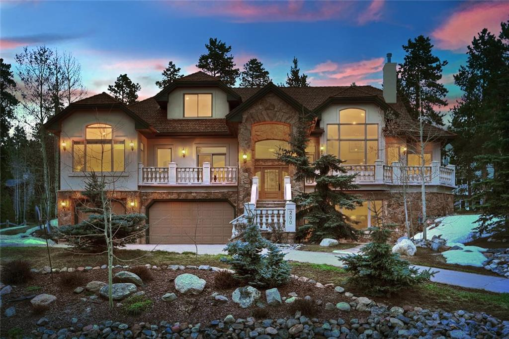 Strike Gold on this marvelous residence in-town Breckenridge! This enviable home is nestled on the quiet side of town with unobstructed views of the ski slopes.  Enjoy the comforts of the 4 spacious bedrooms, bonus loft area & office with dynamite views. Gather the troops for a BBQ on the deck or down in the rec room with a luxury steam room, pool table & bar area.  Relax by the glow of the wood burning fireplace upstairs while gazing at the mountains. Walk to town via the Washington Trail.