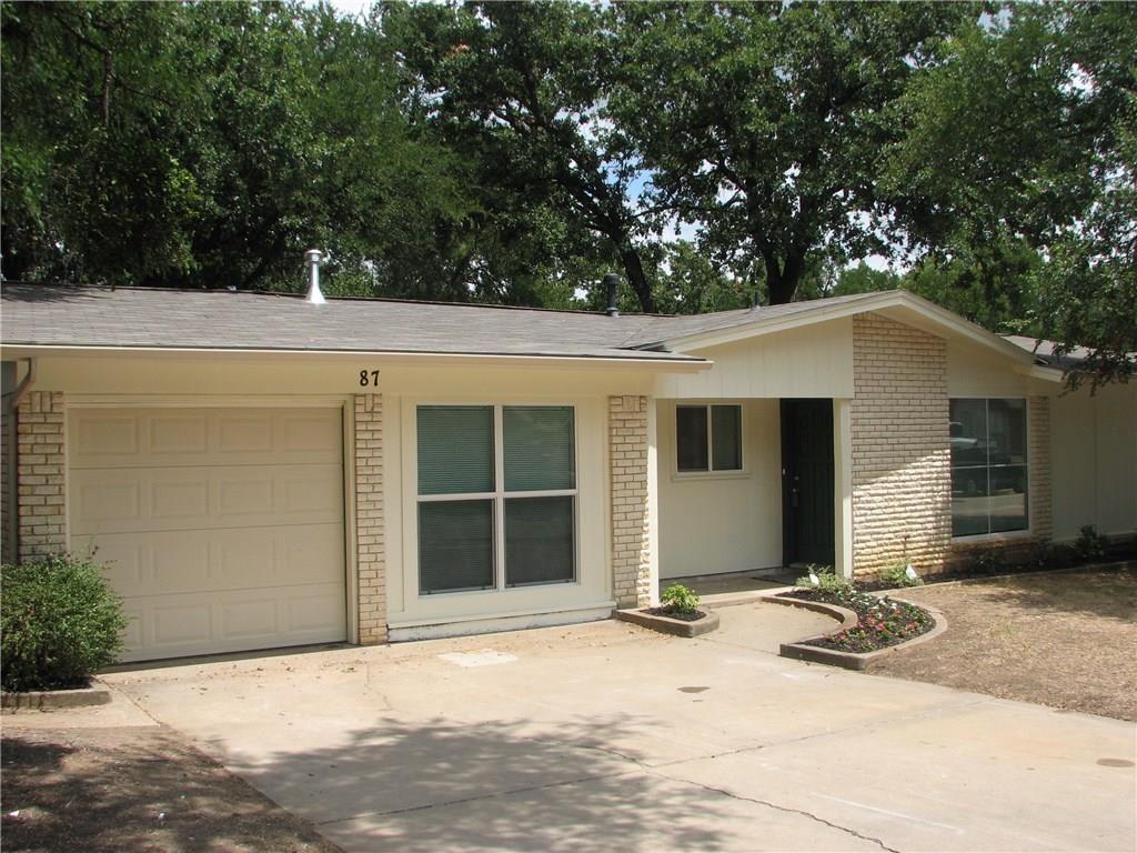 87 Ravenswood Drive, Bedford, TX 76022