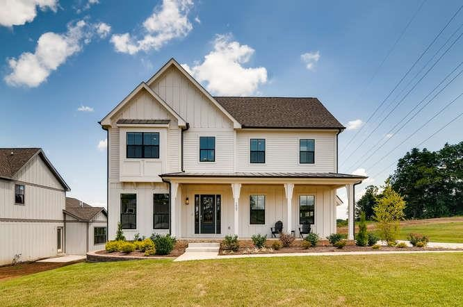 Beautiful open floor plan. Perfect for entertaining. Master on the main floor with a bonus room upstairs. Options available to customize your build and add your own finishing touches. Great location: 25 minutes from downtown Nashville and 7 minutes from downtown Franklin.