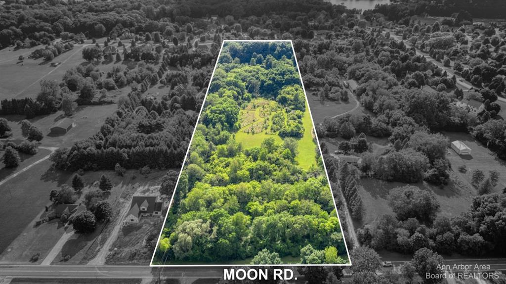 Beautiful and private building site!  Close to Saline on a paved road.  Gorgeous mature shade trees throughout parcel.  Current building site in center of property.  You will not find a nicer place to build the home of your dreams!  Award winning Saline Schools.  Adjoining 10 acre parcel with house and large pole barn also available.  See 9464 Moon Rd residential listing.  Call for a private tour today.