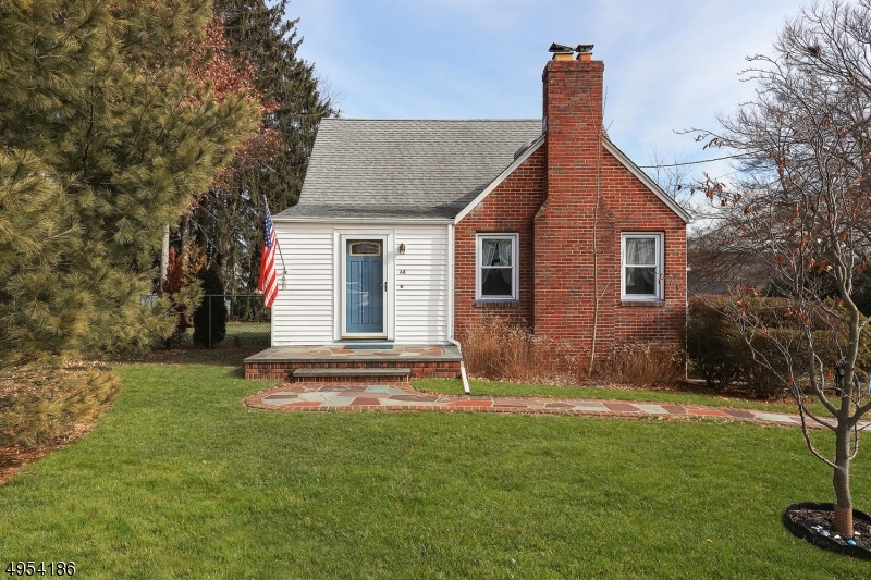 Come view this charming 3 bedroom, 1.1 bath Cape Cod in the heart of Watchung. This home comes complete with an updated kitchen with granite countertops and stainless steel appliances, updated baths. Fall in love with the hardwood floors throughout. Large, open flow between your LR and DR.  This is sure to be the heart of your home. Enjoy the ease of a first floor master bedroom with a beautifully updated bath.  2 more bedrooms upstairs with updated powder room. Basement provides additional space for recreation or a home office (or both)!  Large, level, fenced in yard complete with a beautiful paver patio, with a sun setter shade, perfect for those summer cookouts! Oversized 2-car garage. Close to Watchung Lake and top-rated schools while providing easy access to shopping and highways. Don't miss this one!