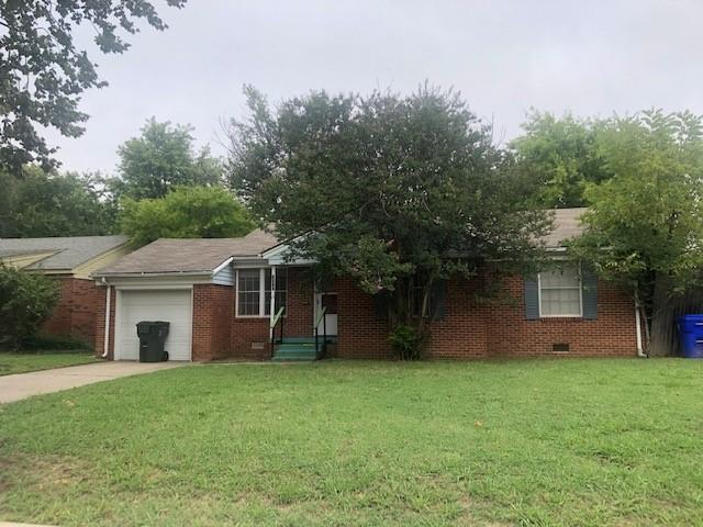 3 Bedroom, 1 Bath, 1 Car Home near OU campus!!!  Rooms are large. New Carpet.