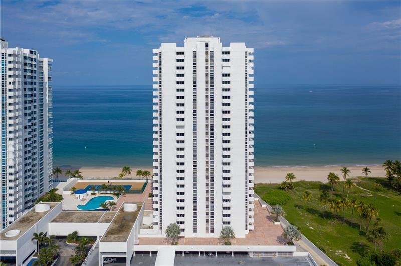 Very spacious 2/2 in a building with tons of amenities including tennis/pickle ball, heated pool/hot tub ,gym, library, 24 hour concierge, lounge and ballroom. Building features on site management to insure the property is very well maintained and managed.Renaissance II is in fabulous Pompano Beach with lots of restaurants to enjoy an active night life. Directly on the sand! Open floor plan with large living space, tons of closets and two balconies. Ocean and intracoastal views from balconies as well as city views. Split bedrooms for privacy. Oversized owner's suite with en suite bath offering a large walk in shower. Kitchen features pantry and stackable washer/dryer. Unit complete with all hurricane impact windows. Being sold furnished. Bring a toothbrush and enjoy living in paradise.