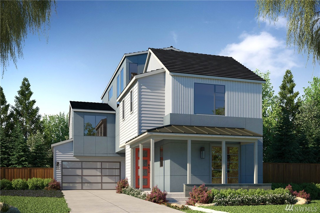 Welcome home! Modern urban oasis in Redmond @ Ray Meadows, the R-280 is 3,335 SF, 4 Bedrooms, 3.75 Baths. Modern floorplan, soaring 10ft ceilings & 8ft doors on main. Popular bed & bath on main. Gourmet Kitchen w/Bertazzoni & Thermador appl, lg. Quartz island & walk in pantry! 2nd floor w/spacious Loft, BR w/private en-suite. Master spa-style free-standing tub & huge WIC! Third floor Bonus Room w/outdoor deck is very popular for extended living & entertaining! Lake Washington School District!