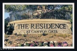 Beautiful Guard Gated Community offers resort style living with many amenities including tennis courts, community pool and jacuzzi, fitness center and much more!  All appliances include! The primary bedroom is separate from the secondary bedroom and each have a connecting bathroom. Sold As Is! Current tenant is in place until 9/31/2021.