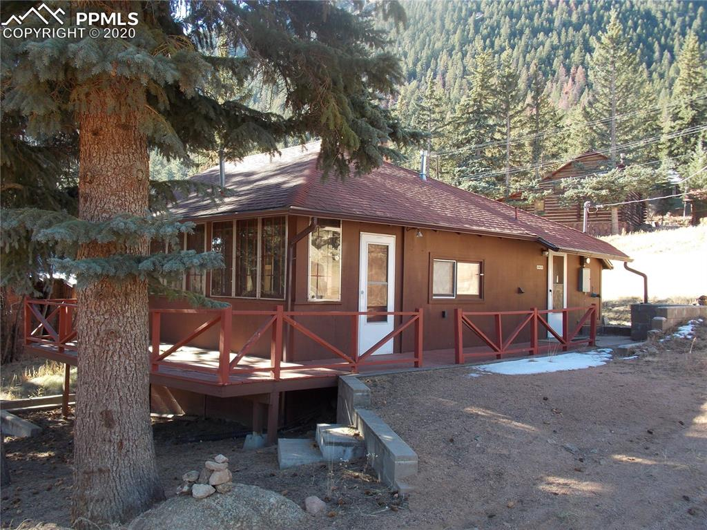 """Super cute cabin """"Shell"""". Great location and beautiful lot.  Finish this amazing little cabin and bring it back to its glory.  Property is sold strictly As-Is."""