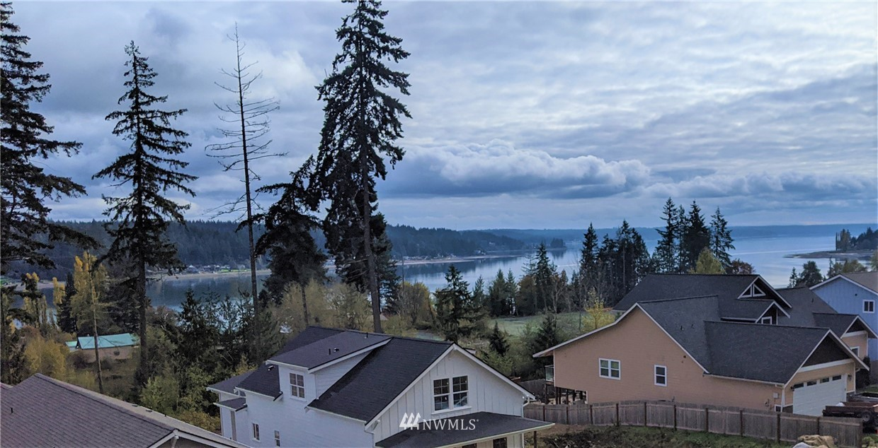 Welcome to The Highlands - On top of the world with sweeping Sound views!!  Cedarland Homes has taken it to a new level with these beauties in Allyn's newest neighborhood - The North Bay Village.  Enjoy the views from your deck off the living room & upper level too.  Cedarland quality all around - quartz counters, white cabinets, 9 ft ceilings, wide planked hardwoods, awesome master suite - PLUS - 320 sf of fully finished separate bonus space above the garage for endless possibilities!