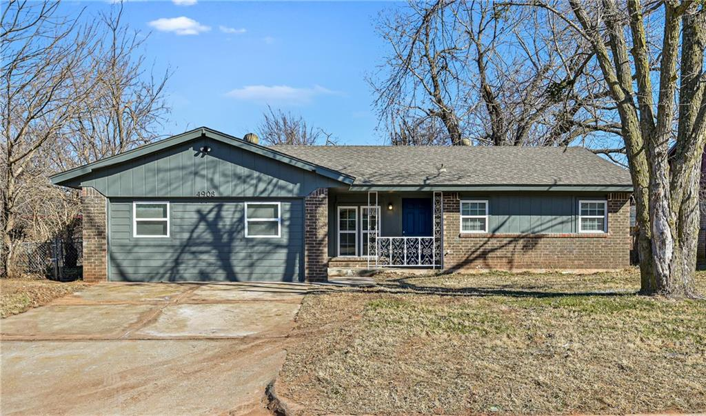 TOTALLY REMODELED!!! Section 8 Welcome. 5 Bedroom & 1 1/2 Bathrooms with a Large fenced yard. Stove included! Huge laundry room with lots of Storage. A MUST SEE…Central Heat & Air Conditioning. Total Electric NO Gas bill!  Security deposit is equivalent to one month. Application fee is per adult.