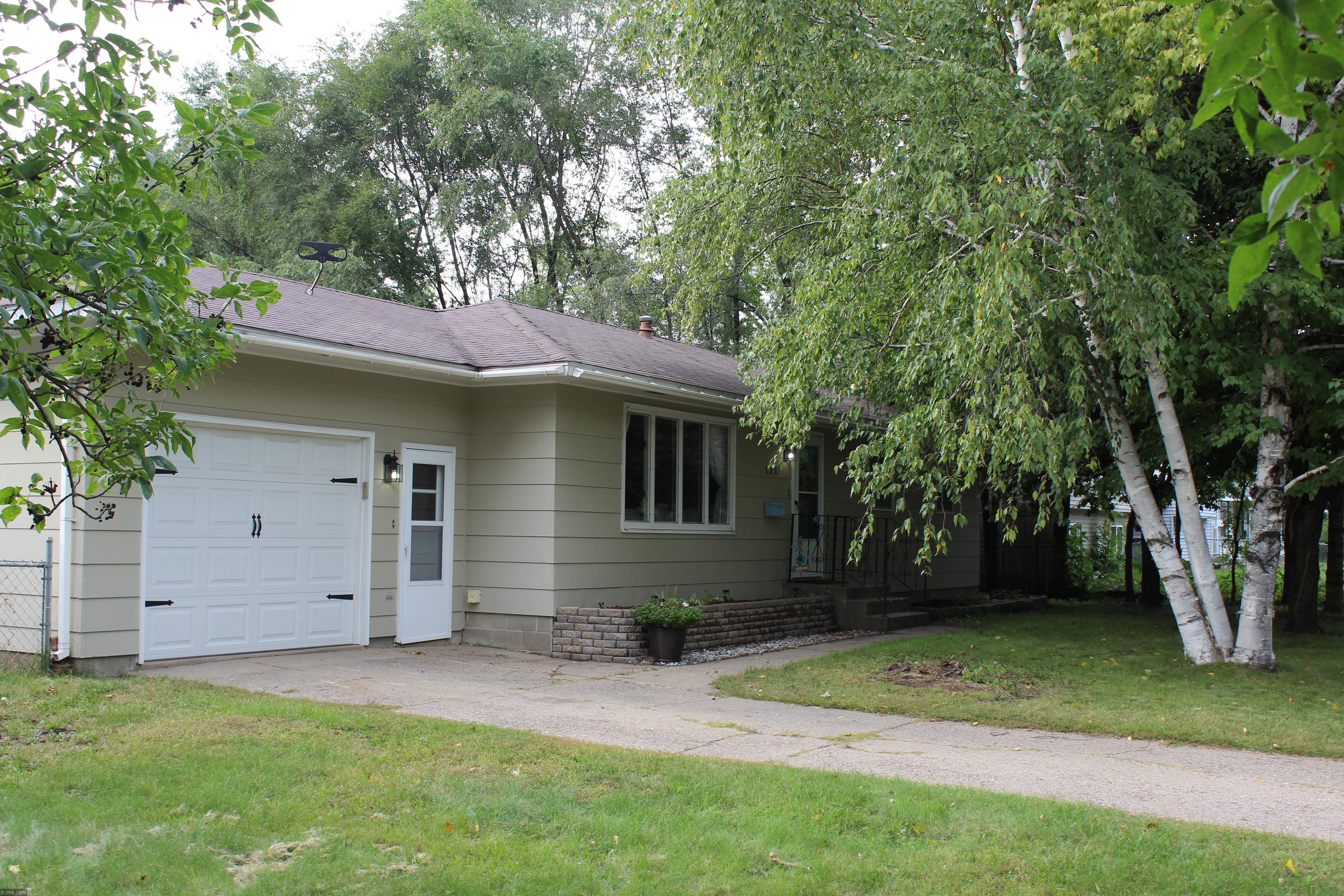 You will feel right at home in this rambler with 3 bedrooms all on the main floor. New paint. Open floor plan, Beautiful fenced back yard, patio area, with a potential 4th Br or office in the basement with the addition of an egress window. Welcome Home!