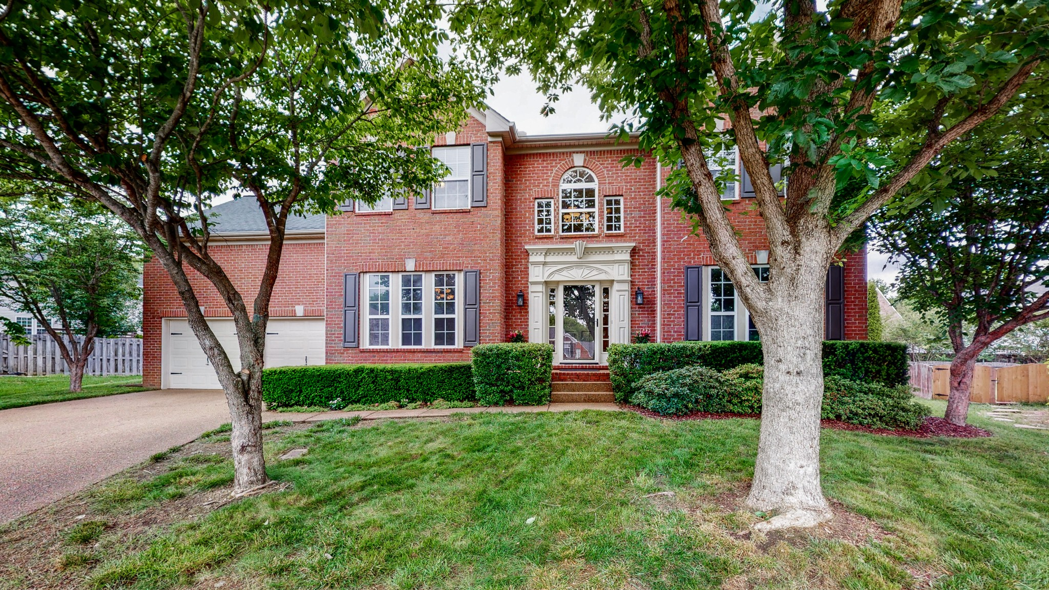 Great all brick four bedroom with bonus room, formal dining room, large open family room/living room and office.  Sweeping fenced back yard with privacy and raised bed garden.  Modern kitchen, granite counter tops with subway back splash.  This back yard on the cul de sac is roomy and private for back yard enjoyment. Freshly painted and ready to move in. Lots of natural privacy in the treed back yard with serene views from the kitchen, family room/living room and deck.  General Information
