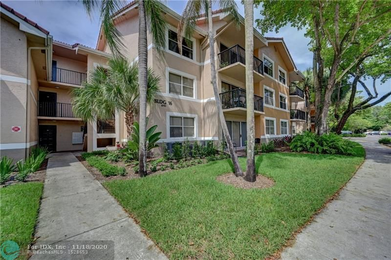 Bright 3 bedroom 2 bath condo in desirable EDGEWATER resort style condo in Coral Springs. Freshly painted with Natural marble floors throughout, split bedroom plan, huge walk in closets, Granite counter top kitchen with pantry and breakfast bar. Large balcony. Enjoy pool & hot tub, tennis, great gym, kids playground and BBQ on the grounds. Gated community. Located close to shopping restaurants, healthcare and more! Great for investors of for your family!