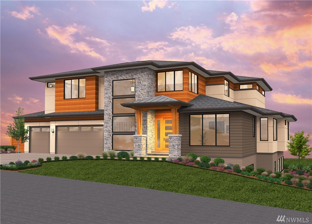 Steve Jensen Homes pre-sale opportunity. This impressive NW Contemporary home in the highly desirable Enatai area features 6beds (all ensuite)/8baths w/6,685 sf. Gorgeous chef's kitchen w/Wolf/SubZero appliances, quartz countertops, large center island & walk-in pantry. Main flr guest bed, formal dining, study & mud room. Covered deck w/fireplace overlooks private backyard. Master retreat w/fireplace, tranquil bath. Huge rec room w/bar, exercise, media & wine rooms.Minutes to downtown Bellevue.
