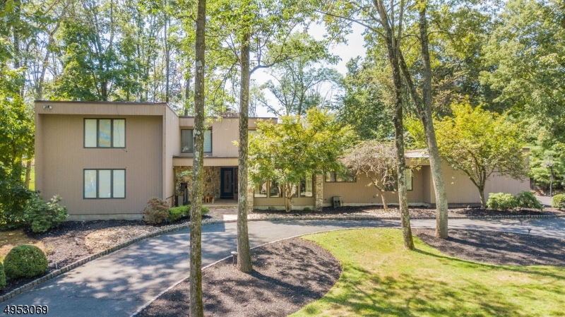 East Facing, entertainers, freshly painted home in sought after neighborhood on large level lot. This 4bd/4.5 bth custom contemporary is sure to please. A 2-story great room engulfed w/ natural light, fireplace and wet bar draws you to a fenced outdoor oasis complete with pergola, outdoor fireplace, pool, hot tub & outdoor kitchen bbq area. A large master suite with new shower/tub, 2 walkins, plus sitting room. Chefs ktchn w/ upgraded appliances, laundry room with double wash/dry, extra 1.5 bath + 2nd bdrm complete first floor. Second floor with new bath/steam shwr, two LARGE bedrooms with walkins & large loft. Full finished basement with movie theater, wood shop, office, 2 egress, full bath & large playroom. Grand circular driveway leads to 3-car garage w/ tesla charger. Tons of closets & storage throughout.