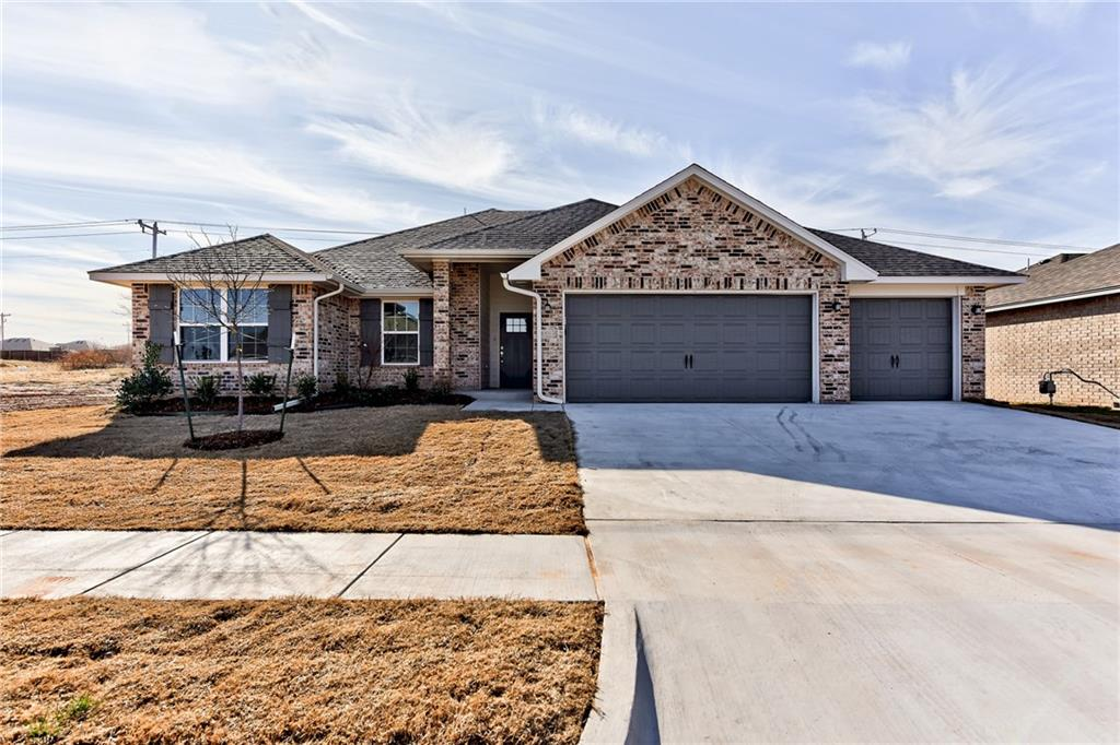 Stunning new construction home built by an award winning, Professional Certified Builder. This SPRAY FOAM INSULATED home comes with 2 warranties, including a TRANSFERABLE 10-year structural warranty, and Lo E windows for energy savings. The Lakeview plan is popular for its open concept. Kitchen features stainless steel appliances, shiplap vent hood, quartz countertops and a spacious pantry. Master bath includes a large soaker tub and elegant frameless glass shower that is fully tiled. The tub surround in secondary shower is also tiled. This great community is within walking distance to the elementary school and is close to shopping and entertainment and offers a community swimming pool and cabana. It is just minutes from the intersection of NW Expressway and the Kilpatrick Turnpike.