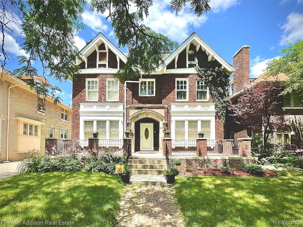 ***PRICE REDUCED - SELLER MOTIVATED - LETS MAKE A DEAL*** Opportunity to own this 3 story Historic Colonial - boasting 6 beds, 3.2 baths and 5 natural fireplaces - located in the highly sought after Boston Edison District. Close to the Q Line for easy access to downtown entertainment/restaurants/events/parks and more. Some recent updates include - roof (2019), cement/driveway/patio (2014), electrical, PEX plumbing (2014), refinished hardwood, front porch (2014), 2 newer furnaces, interior/exterior lighting. Grand staircase and inviting sitting rooms throughout the first floor are great for entertaining. Marble kitchen floor and butler's pantry space extend into the formal dining room. All appliances included.  Spacious master bedroom and master bathroom. Convenient second floor laundry. Lots of room and privacy on the Third floor. Large yard with Detached 2 car garage and patio area. Pool Table in basement stays with the home. BATVAI. Please see agent remarks.