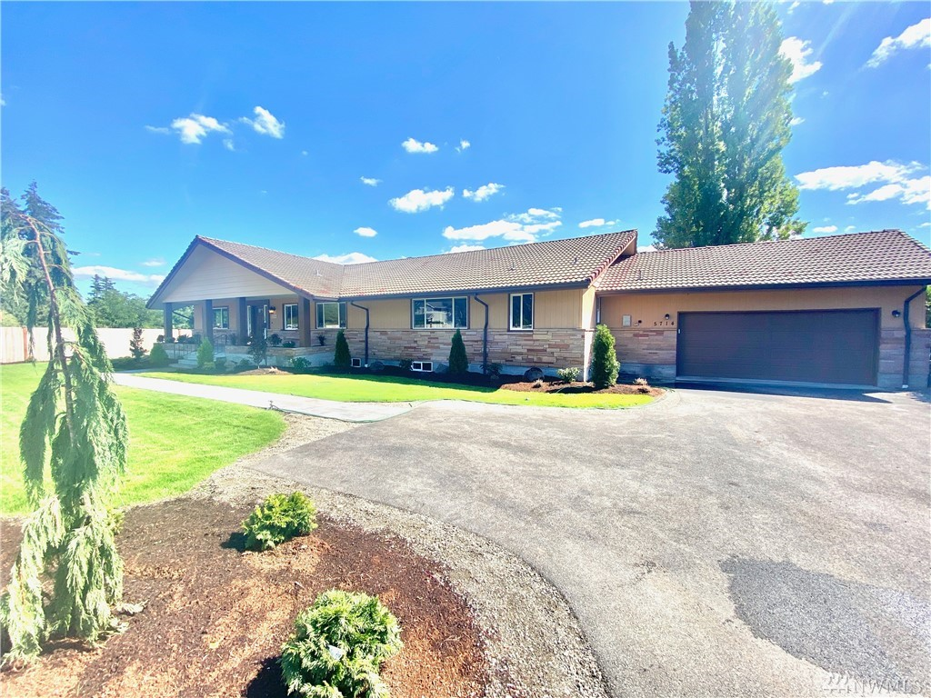 4100 SQ FEET of REMODELED ELEGANCE includes: 2400 SQ FOOT RAMBLER + ANOTHER 1700 SQ FEET IN FINISHED BASEMENT located on a SHY 1/2-AC W/OVER 6-ACRES OPEN SPACE ADJOINING YOUR BACK-YARD. HOME IS KNOCK-DOWN GORGEOUS W/TILE ROOF, CEDAR SIDING, WINDOWS GALORE, LOTS OF EXTERIOR STONE W/ NEW FLOORING, NEW CUSTOM CABINETS, NEW QUARTZ COUNTER-TOPS, NEW INTERIOR LIGHTING, NEW WALL FINISHES, NEW PLUMBING FIXTURES, NEW APPLIANCES, NEW LANDSCAPING & NEW SOLID PERIMETER FENCING +  HUGE DOUBLE CAR GARAGE.