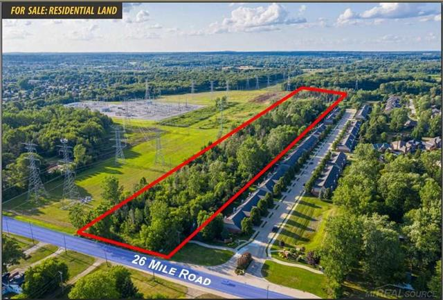 Located in Utica School District, north side of 26 Mile, west of Schoenherr. Great development site, all utilities available. 200ft frontage.