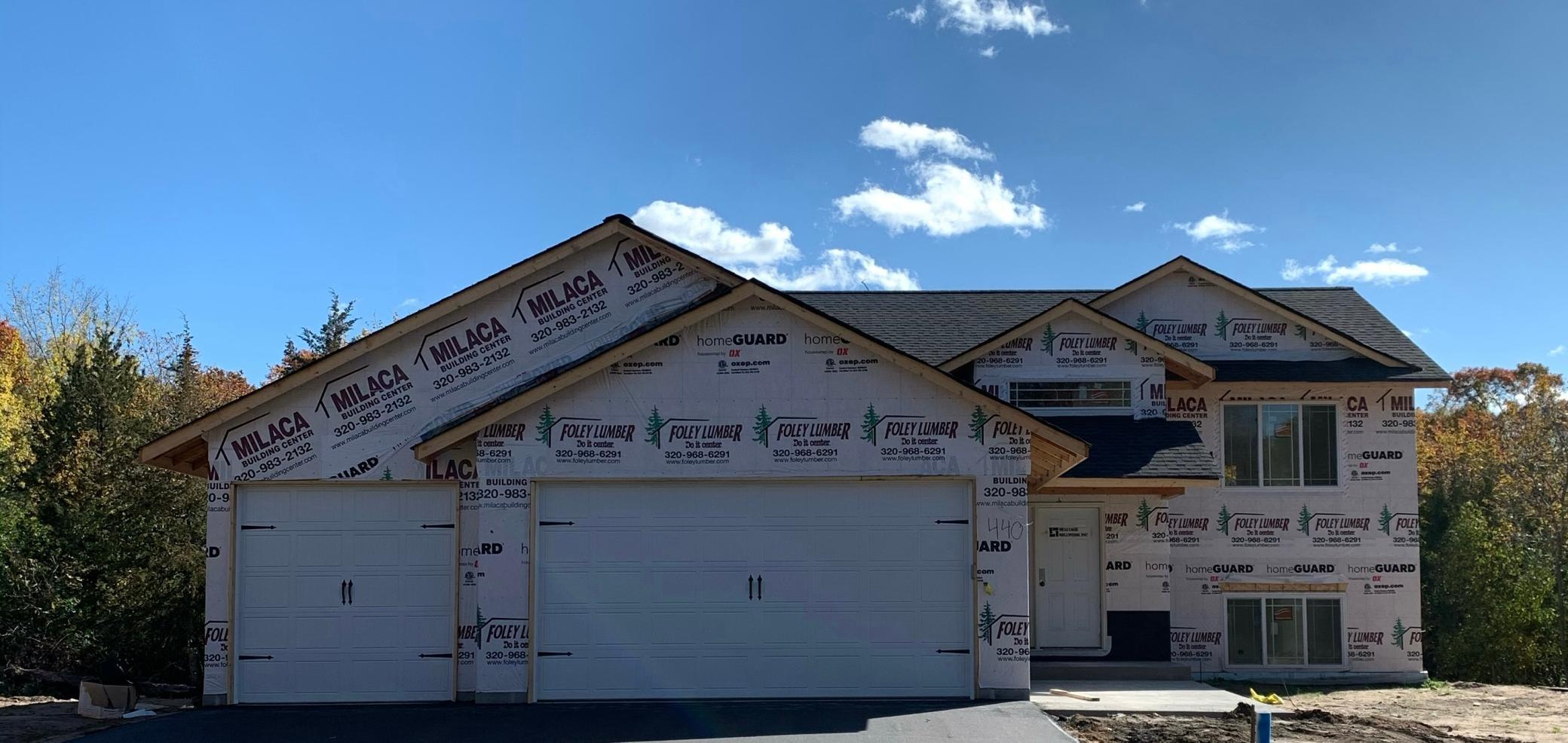 Beautiful new construction with fully finished basement.  Partially wooded lot in a great neighborhood.  Home features neutral colors, luxury vinyl plank flooring, open floor plan, oil rubbed bronze fixtures, granite center island, Hi-def laminate counters, carpet living room, family room and bedrooms, walkout lower level.  Still time to choose flooring and counter tops.