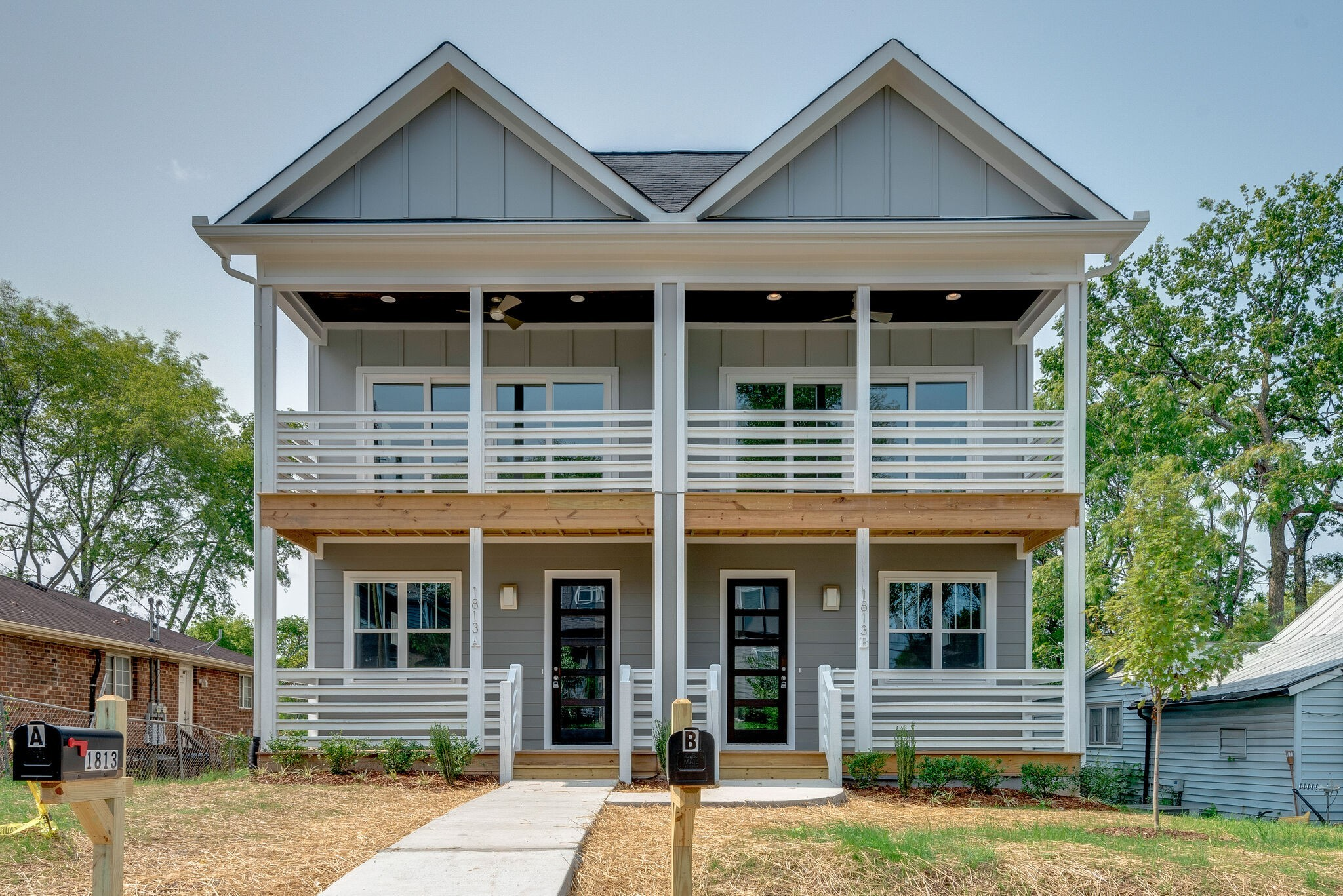 New Construction located in Buchanan Art District. This 3BR 3.5BA home features natural wood flooring, quartz countertops and unique light fixtures. Front and rear decks, a bonus room, bedroom on main floor and privacy fence provides a distinguishing touch.