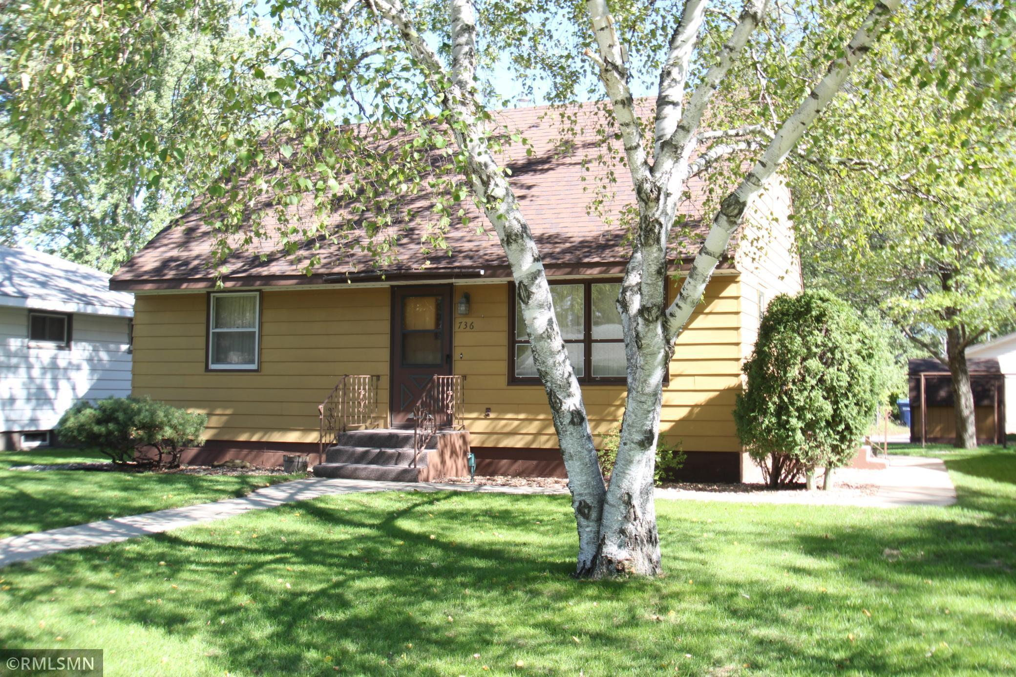 This cute conveniently located 3 bed, 1 bath home is sure to please. Features include central air conditioning, a two car garage, a storage shed and a large screened porch to spend your summer evenings relaxing in. Be sure to check out this home today.