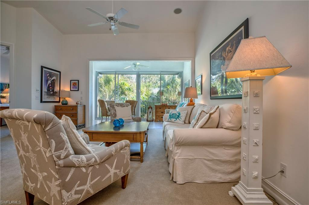 When you take your first step into this gorgeous second-floor condominium you will feel right at home. Decorated with coastal furnishings and fully outfitted, this bright and spacious home is perfect for Florida living. A full 2 car garage and a common elevator offer privacy and convenience. This unit is close to the community/business center, tennis and fitness center, and the tram which transports you to the private Pelican Bay beach.  Along with being one of the most lucrative rental associations in Pelican Bay, Breakwater is also pet-friendly!  This unit is rented until March 31, 2021. All you need is your suitcase!