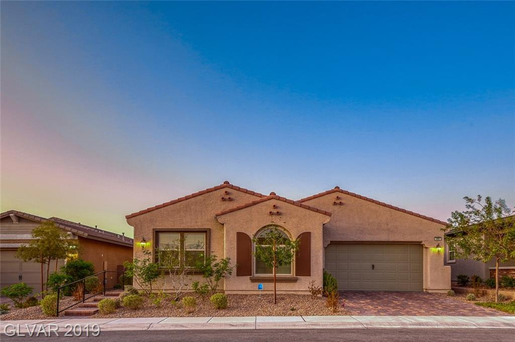 Gorgeous Single Story in 55+ Guard Gated Community of Heritage at Cadence! Features beautiful brick lay driveway & courtyard entry. Grand entry foyer leads to living room w/wet bar & over-sized slider to backyard. Gourmet Kitchen boasts granite counters,espresso cabinets,stainless steel appliances & Butlers Pantry. Spacious Master w/large en-suite & dual walk-in closet. Private backyard w/covered patio & fireplace. Walking distance to Clubhouse!!