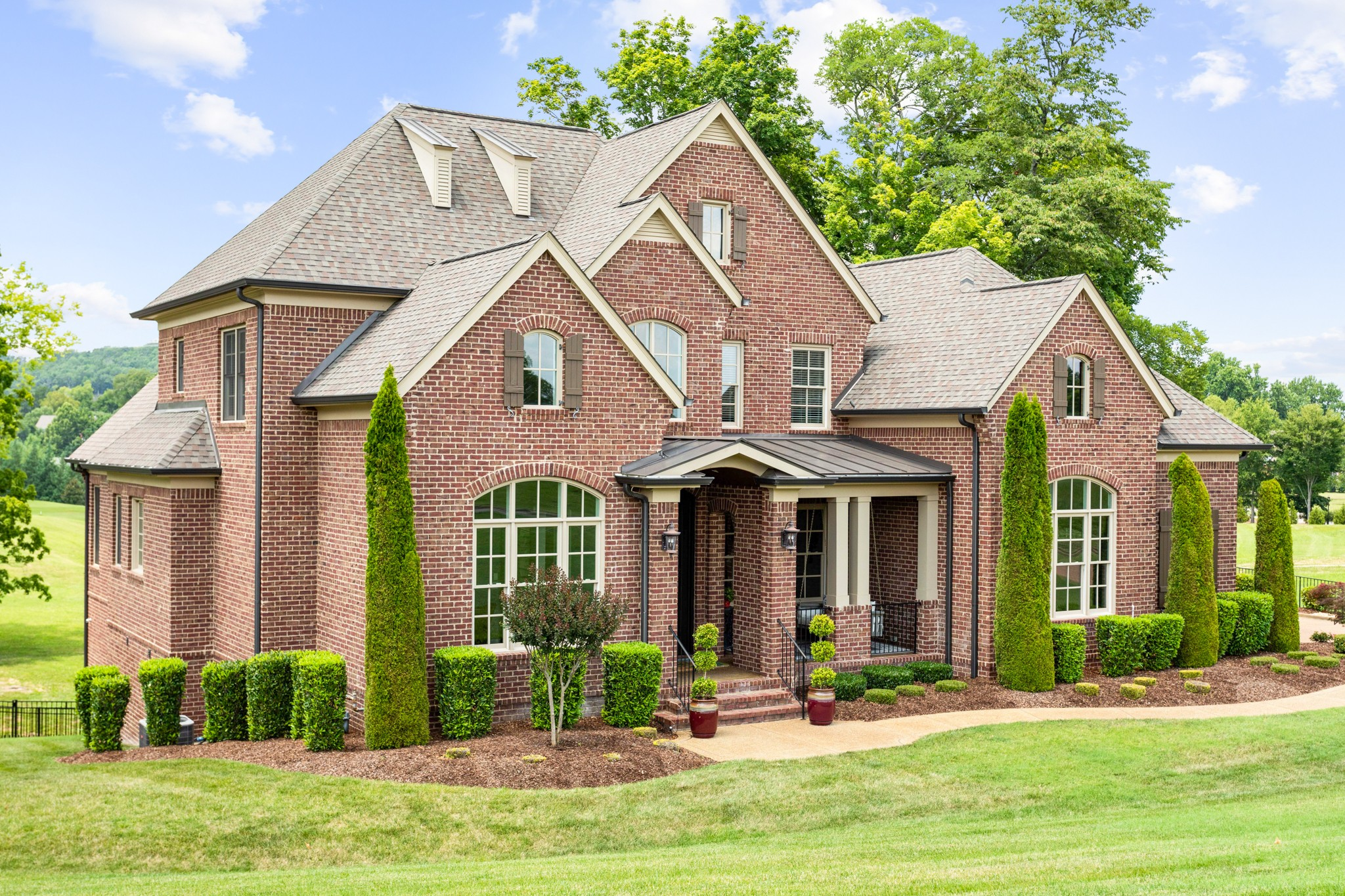 A new opportunity for ownership of a quality high end Grove Park Construction residence awaits * This custom residence features both owner's suite and guest bedroom suite on main level * The main level living space includes chef's kitchen opening to Great Room with access to superb outside screen porch inclusive of fireplace for enjoyment of late fall evenings ahead * Lower level finished space is inclusive of theatre room and bonus * Additional 1,635 square feet of unfinished basement space *