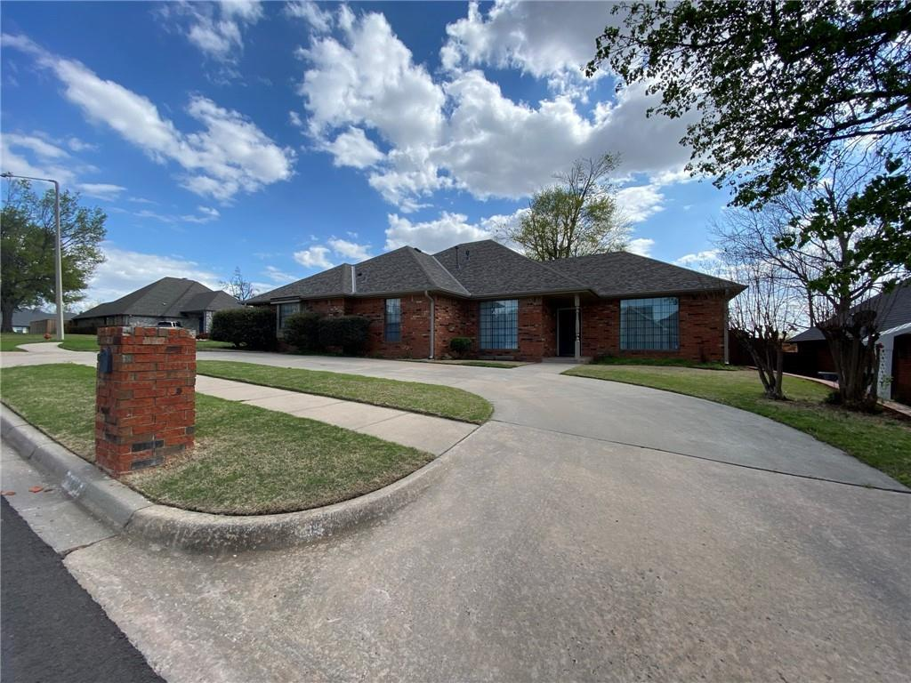 Home is currently undergoing hail repairs. The roof, two living room windows, and carpet are being replaced.  Listing agent is related to seller. Seller possesses an active Oklahoma broker's license.
