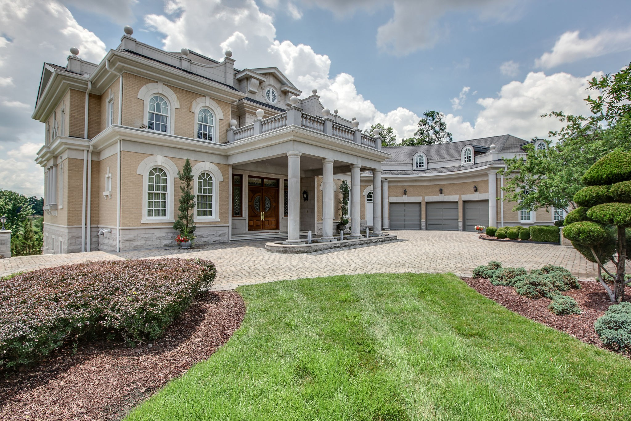 The Governors Club most iconic residence is now available for new ownership * The visual presence of this beautiful home is extraordinarily majestic both day and evening * Beautiful views of both the Governors Club golf course as well as the Brentwood hills unfold from every terrace and window of the residence * Once inside its' interior includes room after room of exquisite design and construction detail * Inclusive of new 127K Slateline shingle roof  * An architectural masterpiece to behold *