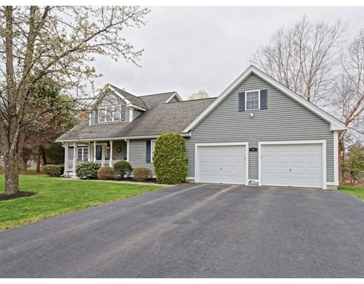 ** Offers due Monday, April 19th 10am ** You will fall in love with this beautiful 3-4 bedroom, 3 1/2 bath Cape in Holden! Fantastic location in quiet Cul-de-sac, yet w/great commuter access to I190/290. Built in 2000, this young, immaculately maintained, custom Cape features a charming farmers porch, oversized 2 car garage & so much more. Inside..the open concept layout is ideal for entertaining. A warm & inviting fireplaced family room w/cathedral ceilings & hardwood floors opens to the cherry cabinet kitchen & dining area. A first floor master w/en-suite bath & walk in closet. Down the hall is an office (or could be a 4th br or formal dining rm) & laundry room. Just off the dining area, french doors lead to a 10x20 deck. Upstairs are 2 more bedrooms, one with large walk-in closet. A full bath w/6'tub/shower. The finished lower level provides even more additional living space..a family room, another bedroom, a full bath, & an exercise area. Central air, central vac, irrigation system