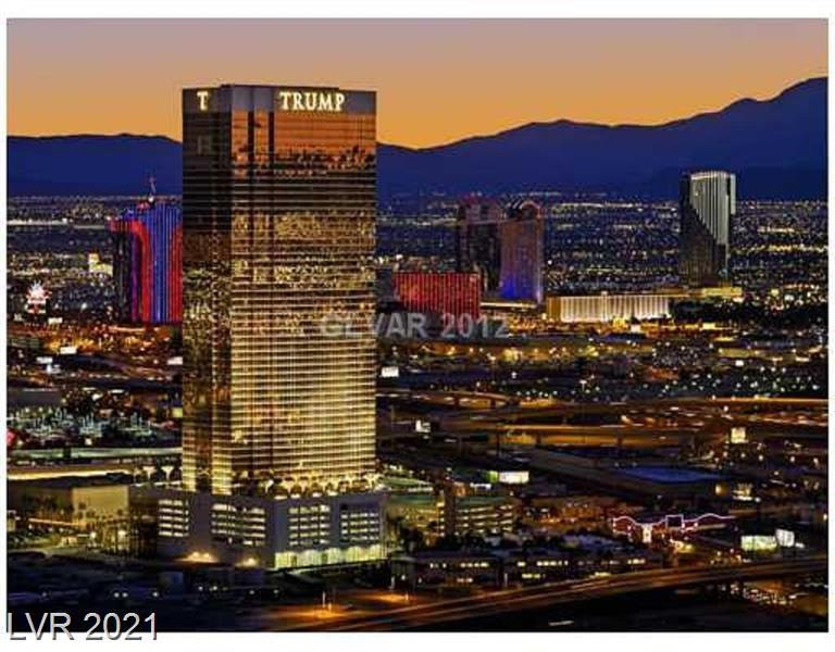 Enjoy luxurious high rise living in this fully furnished studio suite! 21st floor unit faces East with view of Wynn and Las Vegas Blvd. Elegant finishes w Sub-Zero and Bosch appliances. Master bath features giant whirlpool tub and separate shower. Trump Tower amenities include 24 hr security, concierge, front desk and in suite dining. World class spa and restaurant on site. Fashion show mall is just across the street!!