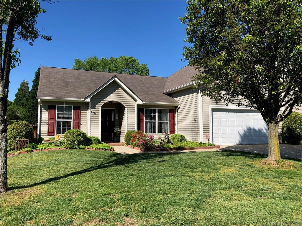 Adorable, well maintained 3 bedroom ranch home with bonus above garage. Brand new HVAC! This is a rare find in today's market! Gorgeous hardwoods in Kitchen, breakfast, entry & formal dining rooms.  Fenced in, level back yard with storage shed and roof covered patio.  Cathedral ceilings and window to kitchen allows for plenty of flowing light and conversation.  Bonus room provides a private place to set up an office, movie room, play room or whatever you like.  Formal dining room can also be used as an office or separate living room.  This is a beautiful and comfortable home that is sure to please.  The floor plan is one of the top sellers in several area neighborhoods. Includes home warranty!  For a virtual tour visit https://my.matterport.com/show/?m=iFKuHEqa3KB&mls=1