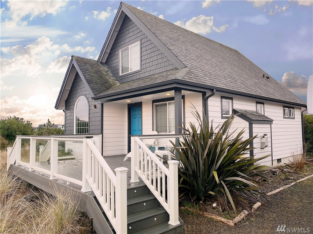 Superb southern Ocean Shores location! Awesome beach home in perfect shape turn key and ready to move in. All the appliances stay, and most of the decor items come with the house. Walk to incredible ocean beaches from this great dune grass location. Big beautiful windows let in tons of warm sunlight. Sellers have added many additional improvements to the original new construction. LIFETIME community club member with free access to pools, clubs, parks, and more!